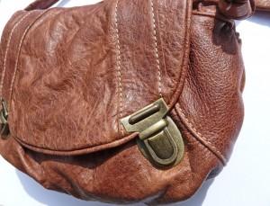 sac cartable piece unique en cuir