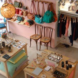 Vue d'en haut de l'atelier boutique böw à toulouse