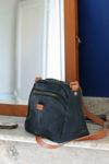 sac cuir noir carré